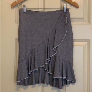 Club Monaco Skirt Ruffled Size XS/P